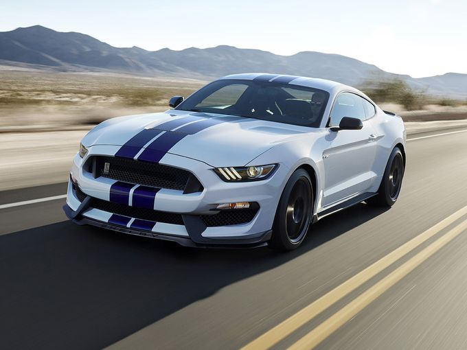 New Ford Shelby GT350 Mustang Marks a Rebirth of Cool
