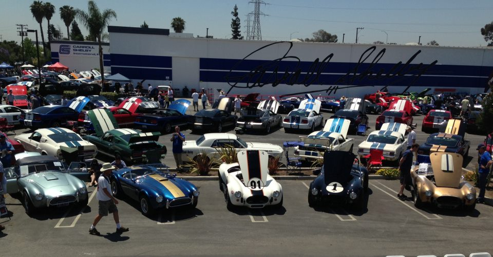 Ford Fans Flock to Gardena for Annual Carroll Shelby Tribute Show