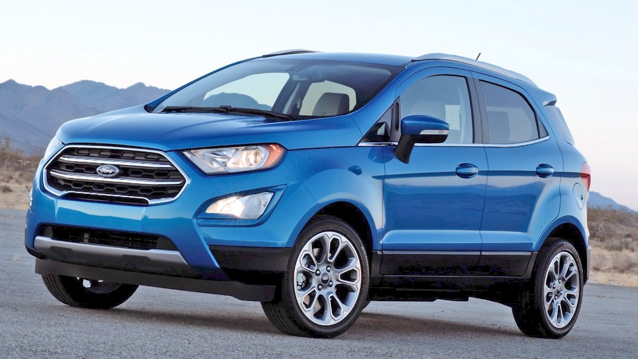 Whats new for the 2018 ford ecosport