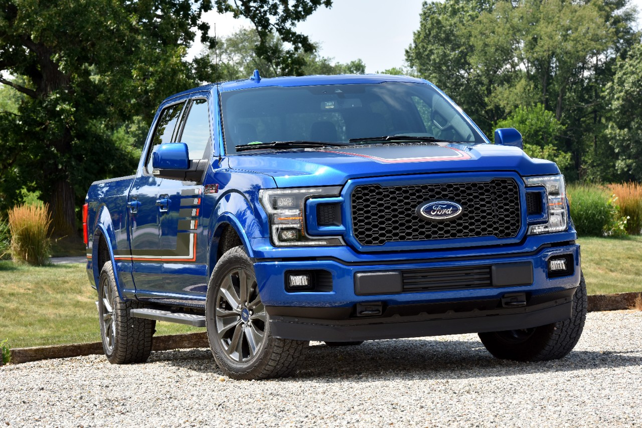 Ford f series pickups on another sales tear