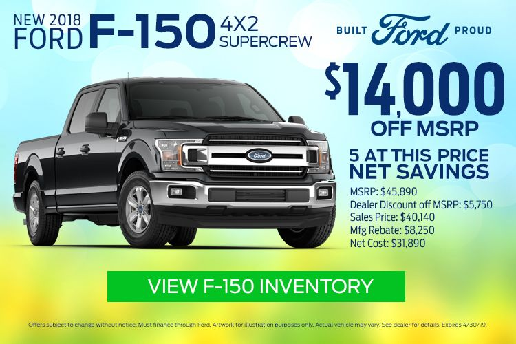 EF F150 Supercrew